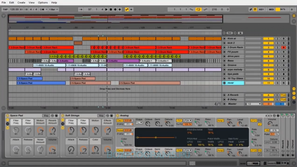 Ableton Live полная версия для Windows 10, 7, 8, XP, Vista