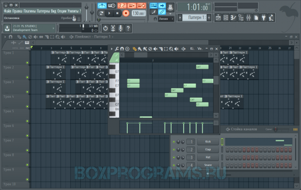 FL Studio русская версия для Windows 10, 7, 8, XP, Vista