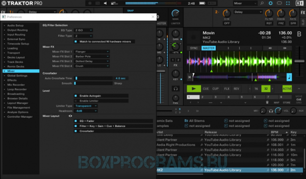 Traktor Pro для Windows 7, 8, 10, Xp, Vista