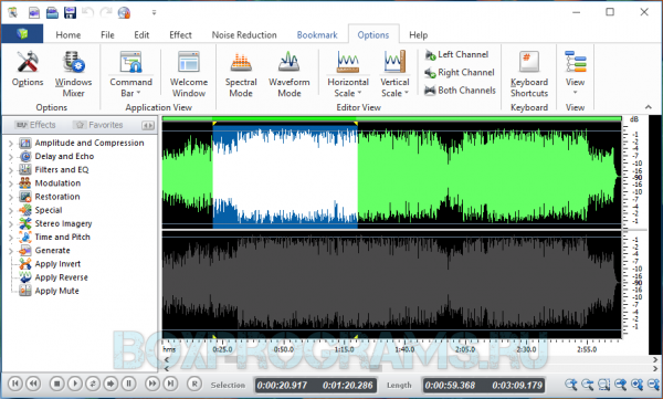 Swifturn Free Audio Editor на русском языке