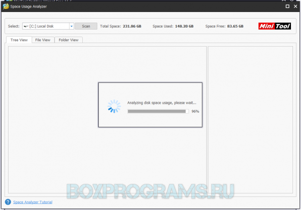 MiniTool Partition Wizard на русском языке